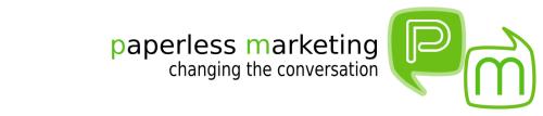 Paperless Marketing Logo